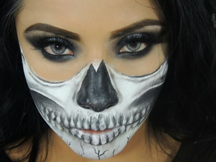 Maquillaje halloween - hacerlo paso a paso -