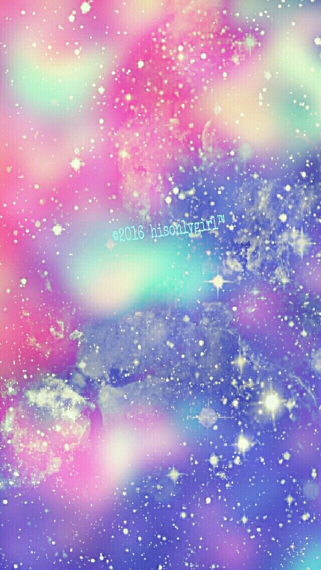 Soft Rainbow Galaxy Iphone Android Wallpaper I Created For The App Cocoppa C 2016hisonlygirl Galaxy Wallpaper Ipod Wallpaper Cute Wallpapers