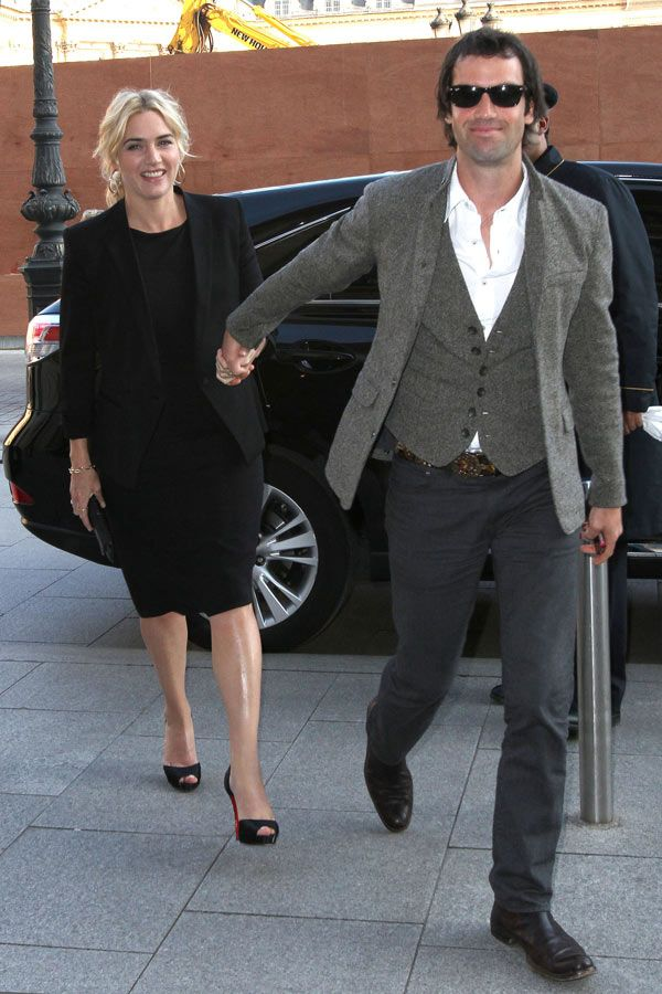 Kate Winslet Ned Rocknroll Welcome A Baby Boy Congrats Kate Winslet Kate Fashion