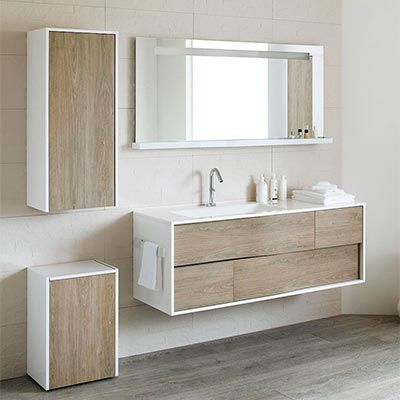 meubles de salle de bains sanijura collection my lodge salle de bain pinterest meubles de. Black Bedroom Furniture Sets. Home Design Ideas