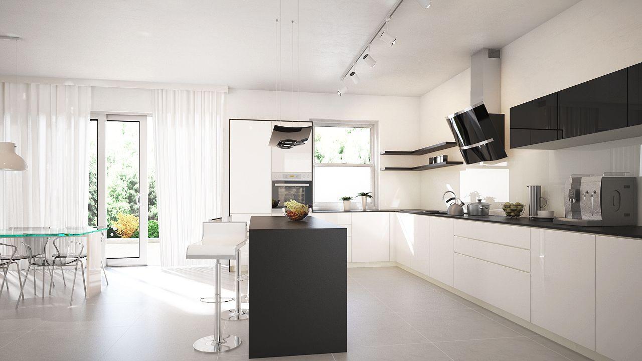 okap kominowy zabudowany - Szukaj w Google | Kitchen ideas | Pinterest