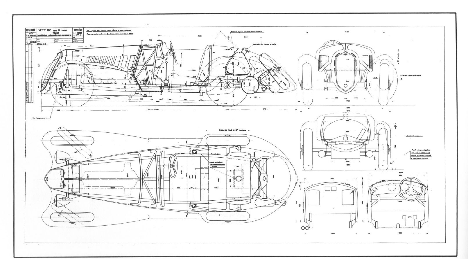 hight resolution of alfa romeo 8c 2900 1938 smcars net car blueprints forum