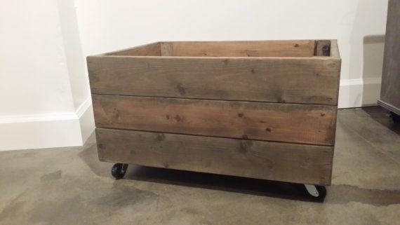 Grand Roulement De Caisse Caisse Palette En Bois Roulette Crate Recupere Bois Apple Crate Stocka Meuble Avec Caisse En Bois Meubles En Caisse Palette Bois