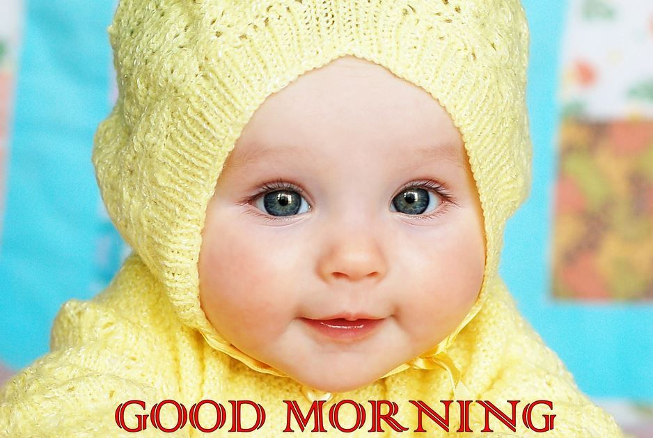 Cute Baby Good Morning Images Pic Good Morning Images Cute Cute