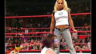 Trish Stratus The Rock Rikishi Make An Ass Out Of Vince Mcmahon Youtube