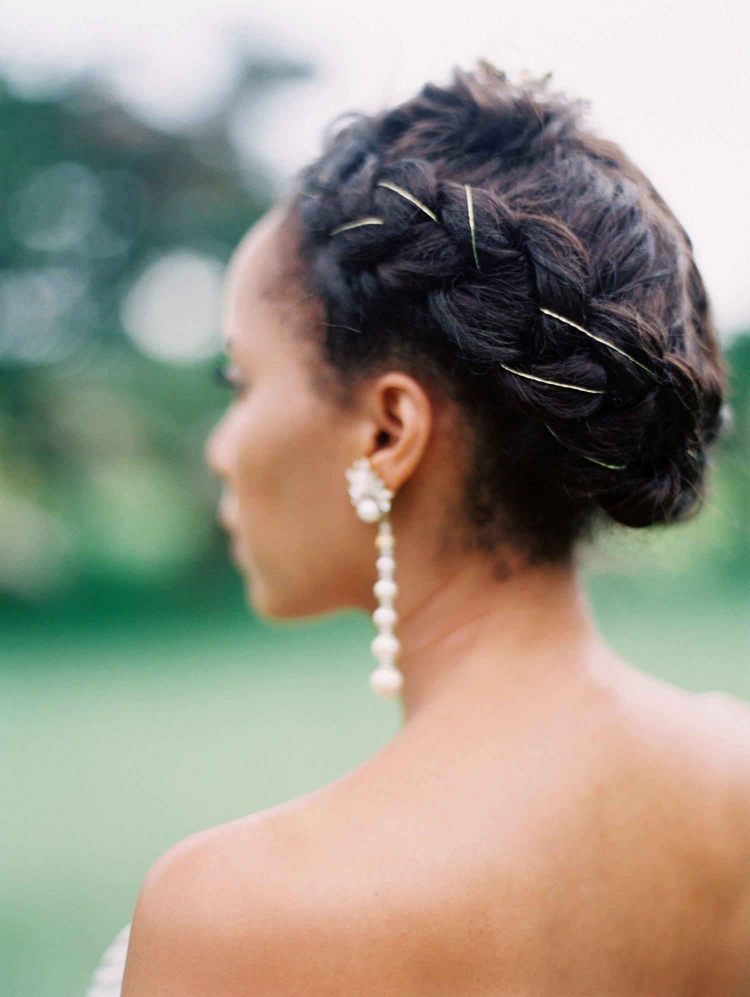 one couple's chic wedding weekend in jamaica | hair+makeup