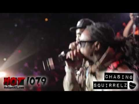 Young Jeezy and Lil Wayne at Hot 107.9 Birthday Bash 16 - Ballin' (live)