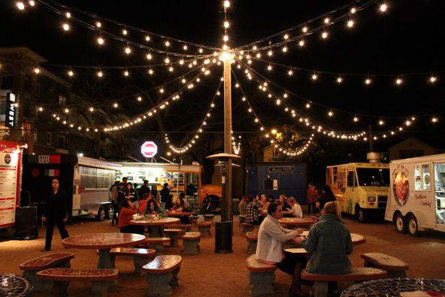 Food Truck Court Austin Texas
