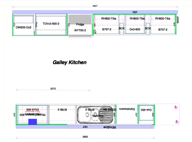 Ideas Of Beautiful Efficient Small Kitchen Layouts