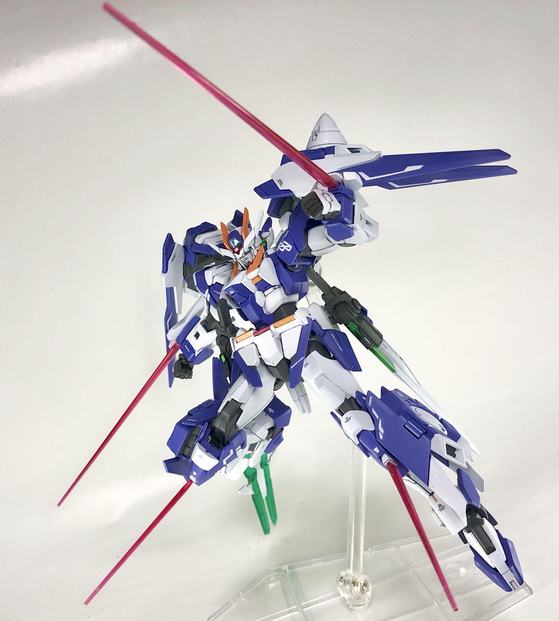 GN0000VXS ダブルオーガンダムエクシアス Gunpla custom, Gundam, Iphone