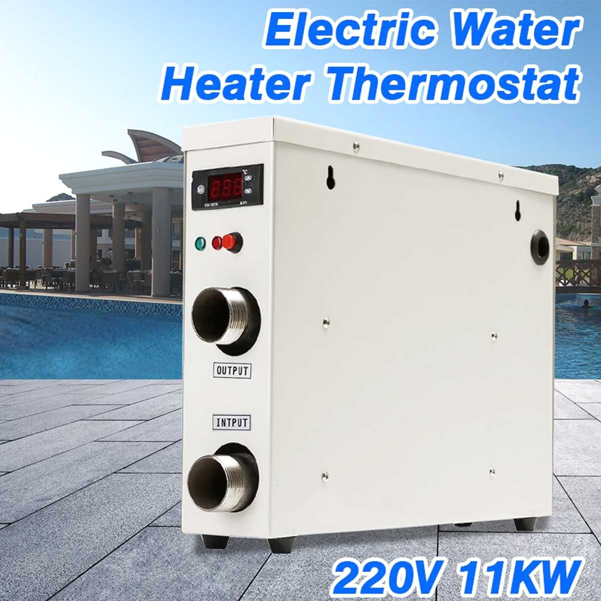 11KW 220V AC Electric Digital Water Heater Thermostat For