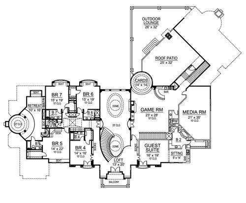 European Luxury House Plan Luxury House Plans Mountain House Plans House Plans