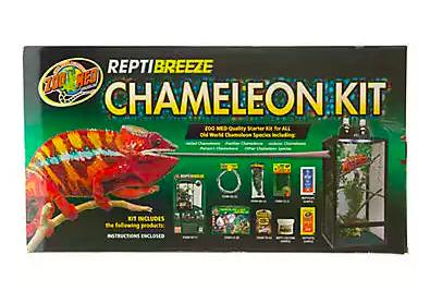 Zoo Med Reptibreeze Chameleon Kit Me Chameleon Exotic Pets