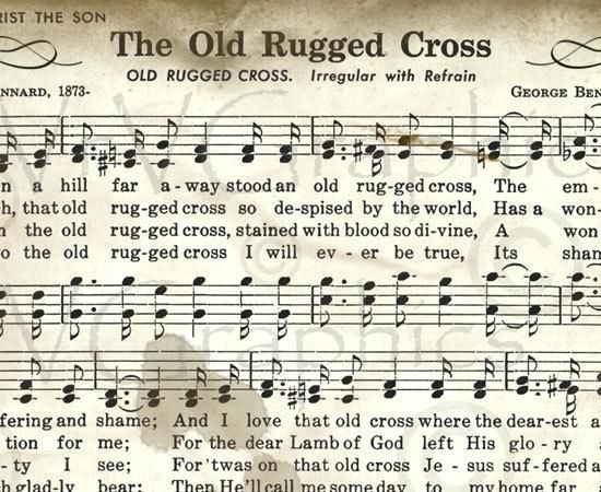 Inspirational The Old Rugged Cross Arts Elegant Or Free Piano Arrangement