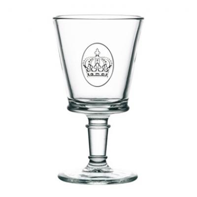 Weinglas Krone Von La Rochere Aus Frankreich Weinglas Dekorierte Weinglaser Glas