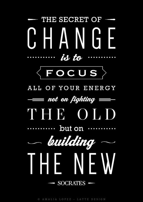 Socrates Quotes The Secret Of Change Socrates Quote Print Inspirational Quote Print