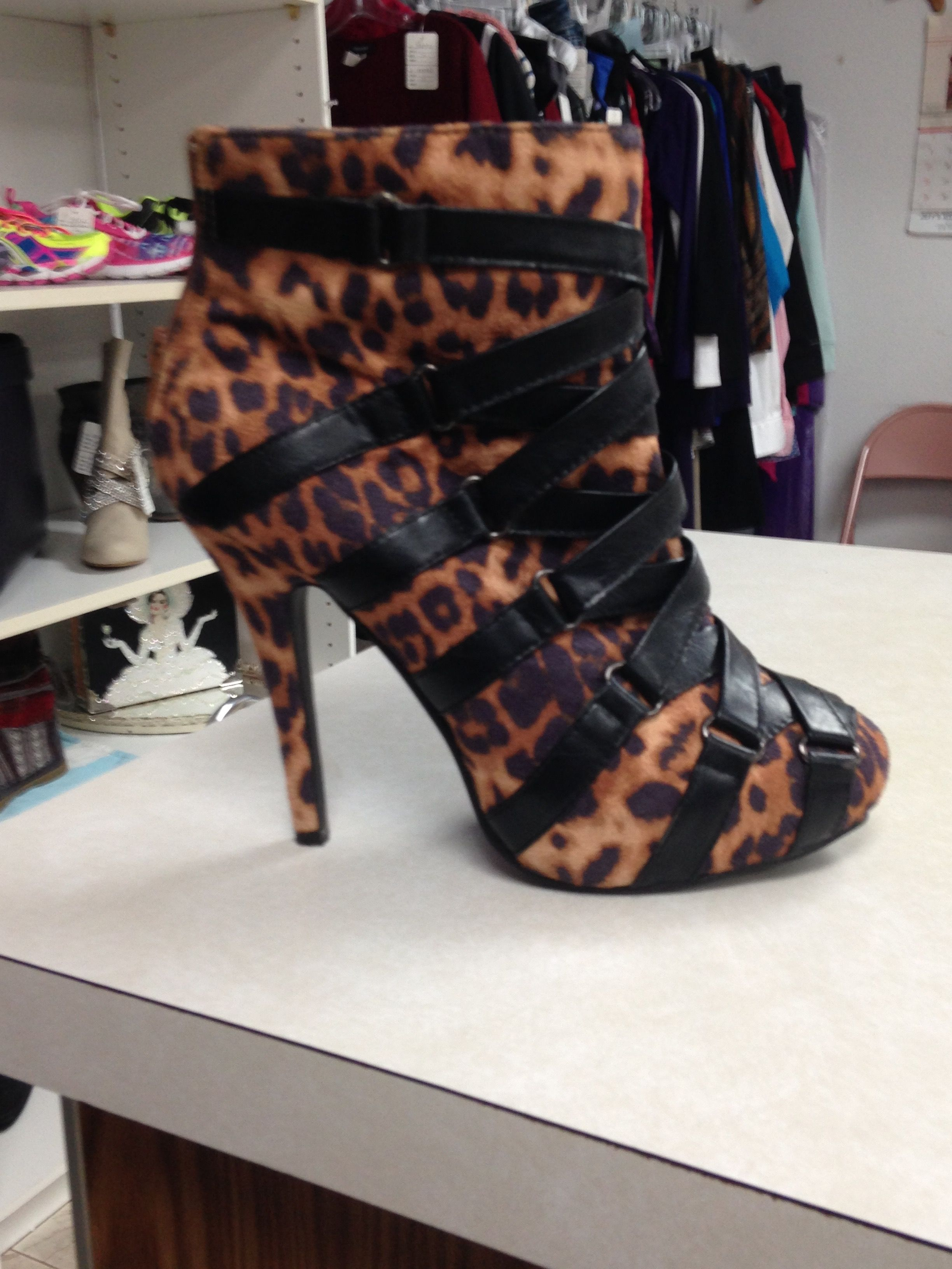 Leopard Print Boots to WOW in | The Daily Struggle