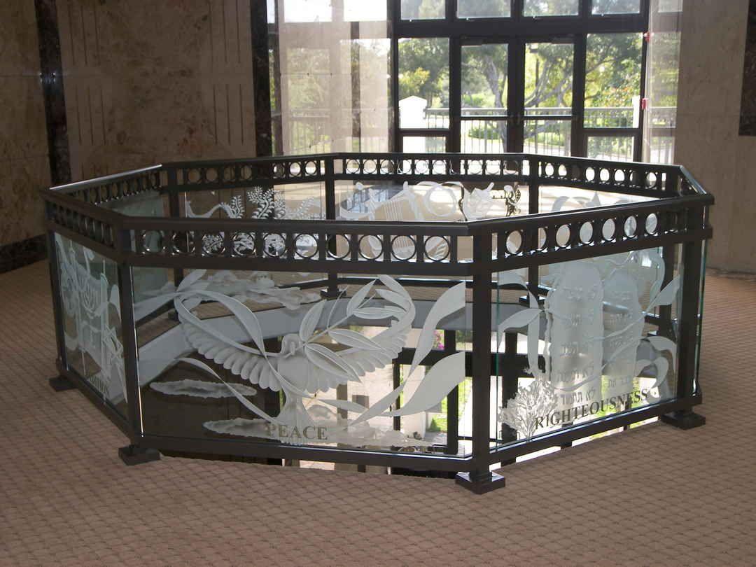 Best Carved Glass Sgo Designer Glass Staircase Railing Design Railing Design Frosted Glass Design 400 x 300