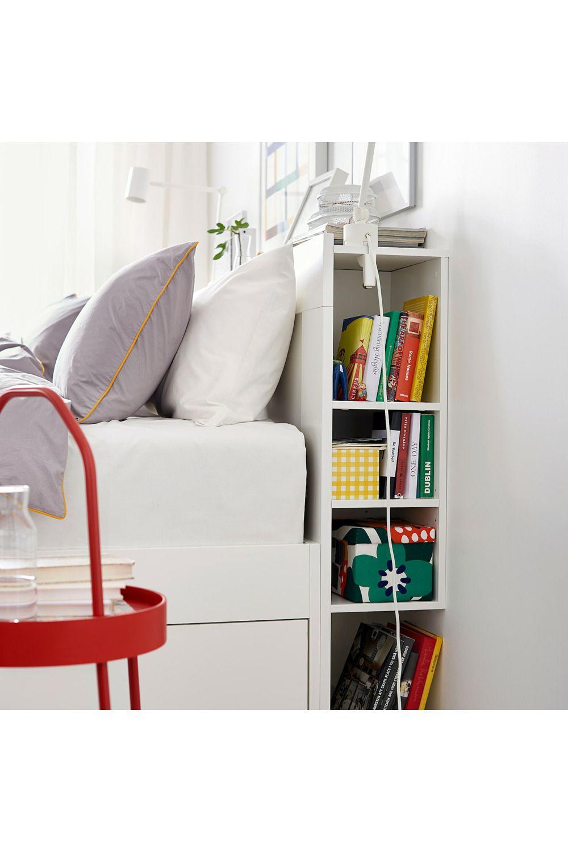 IKEA – BRIMNES Sengegavl med opbevaring