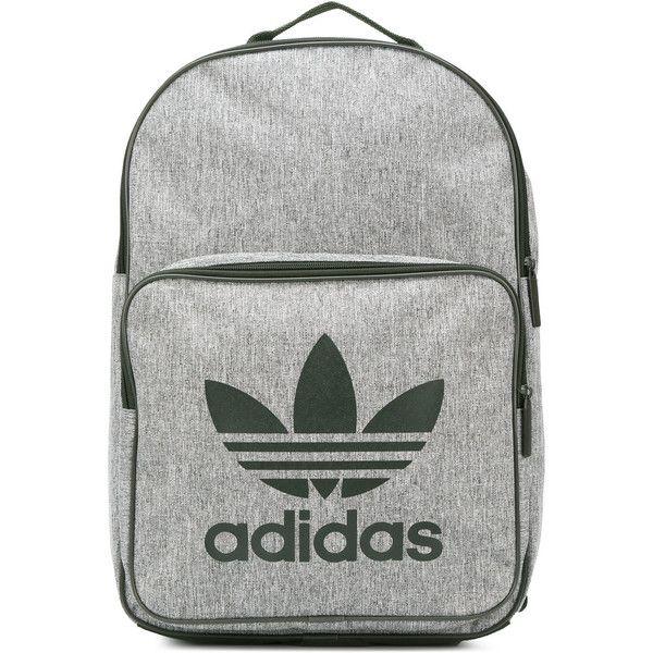 Adidas oversized logo backpack ($53) ? liked on Polyvore