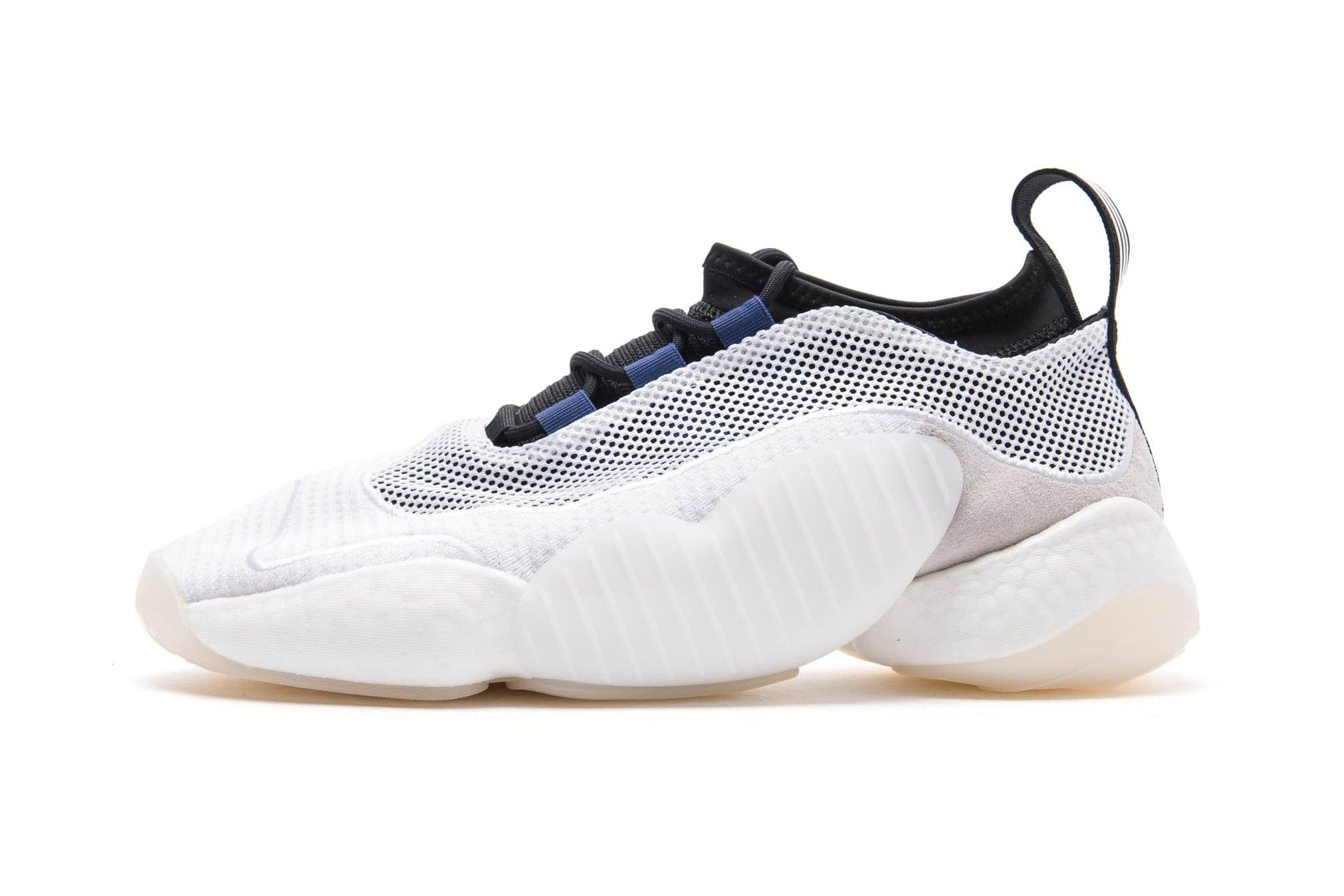 baa80acaeb6f adidas s Crazy BYW LVL 2 Makes a Return in Simplistic White Black ...