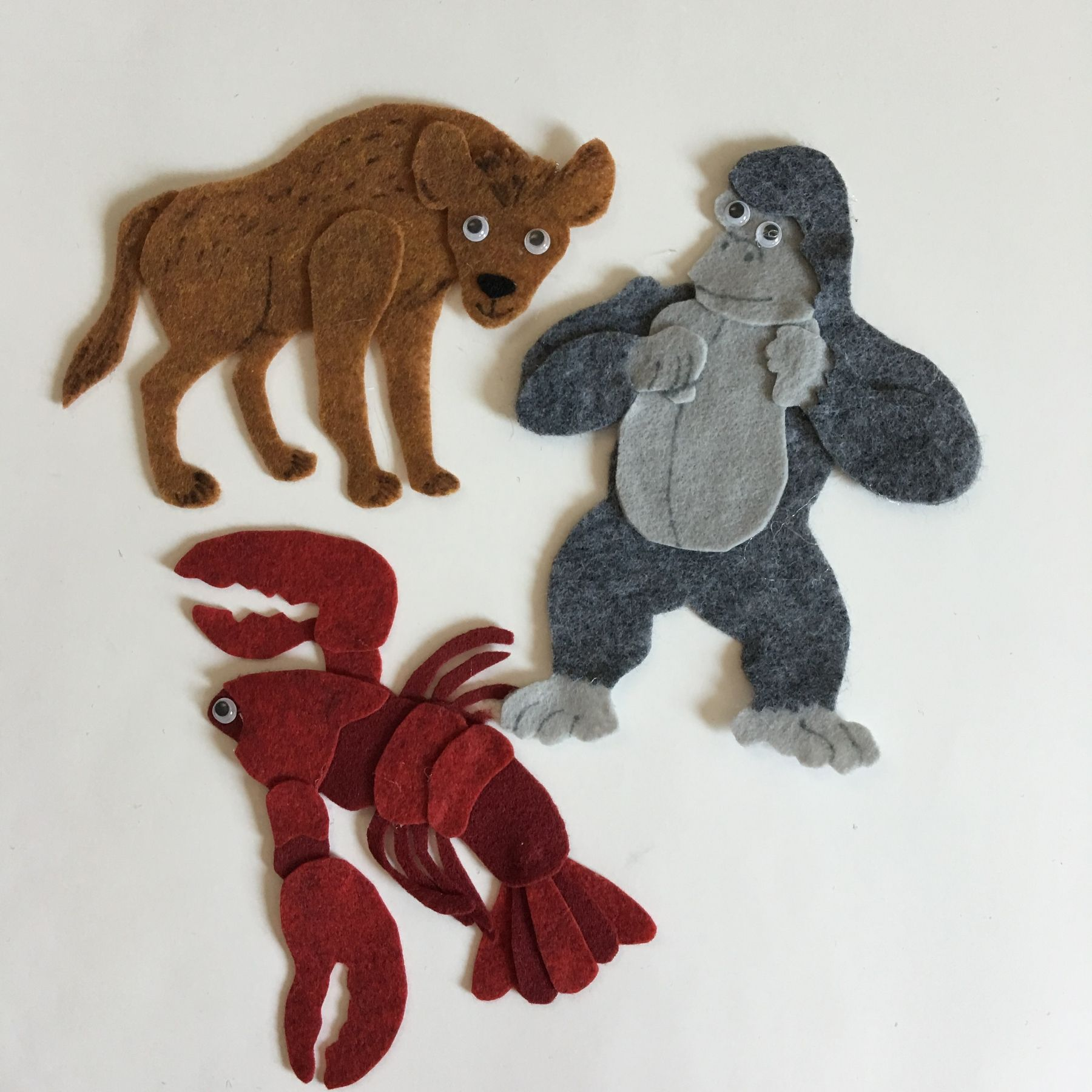 Grouchy Ladybug Pattern For Felt Story Board Includes
