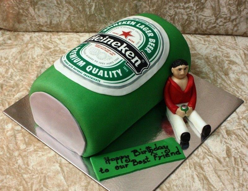 Birthday Cakes Dubai ~ Guys favorite cakes dubai birthday cake heineken