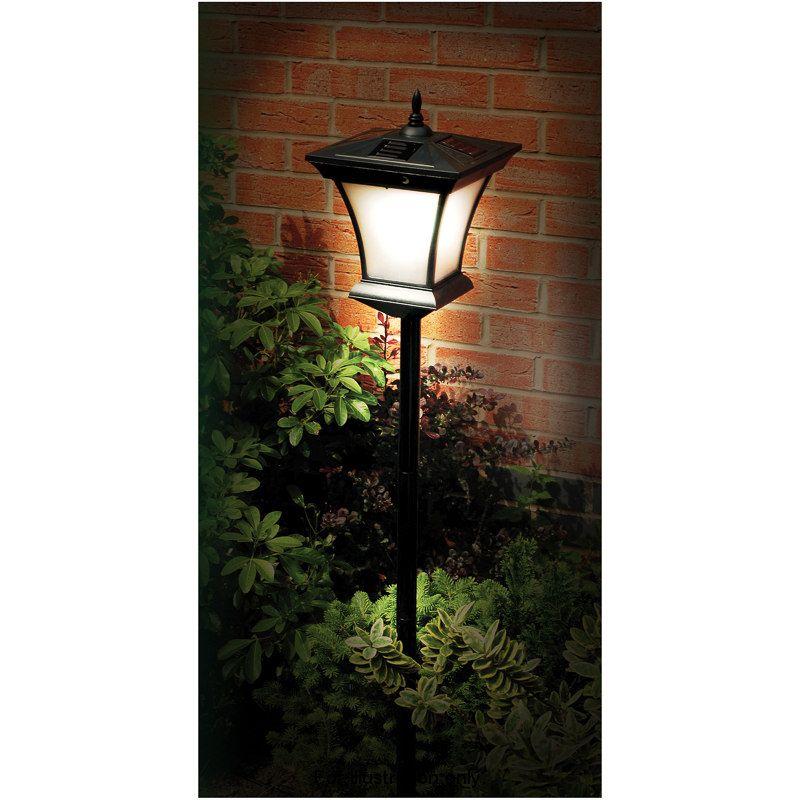 233526 130cm solar garden lamp post 2