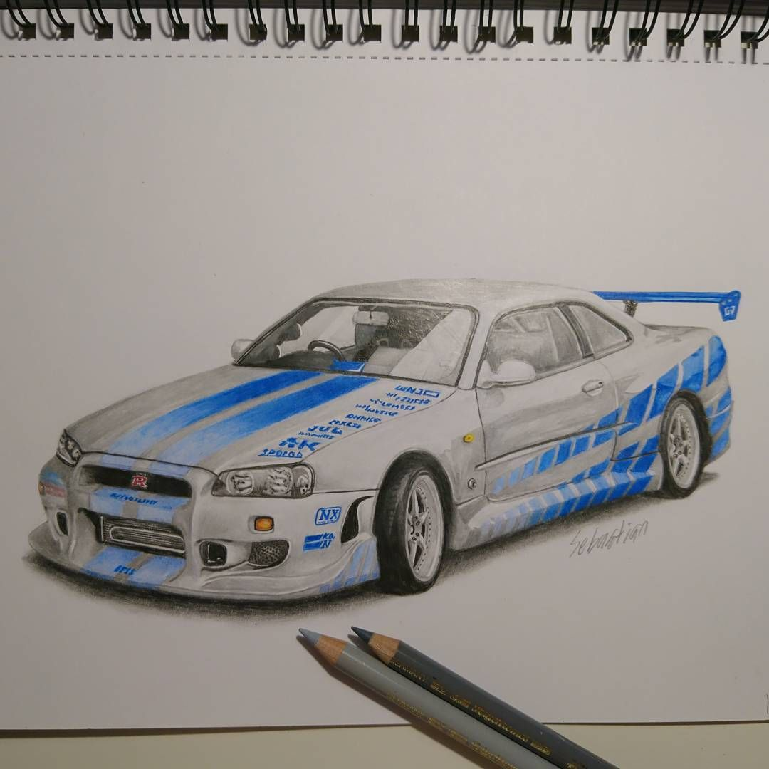 Paul Walker\'s Nissan gtr r34 from movie The Fast and the Furious ...