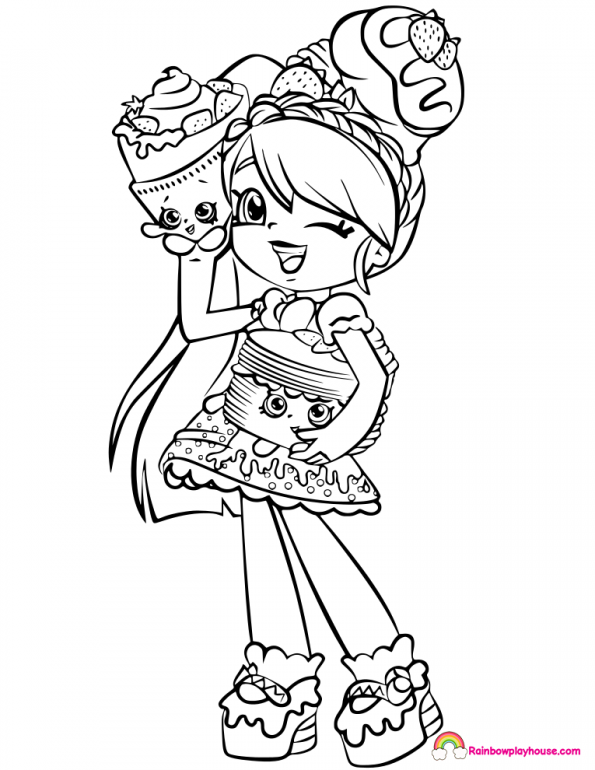 shoppies doll coloring pages archives rainbow playhouse coloring pages for kids