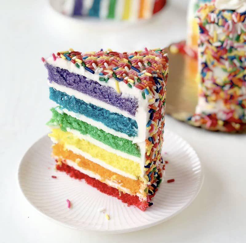 carlo's bakery rainbow cake tgi fridays review