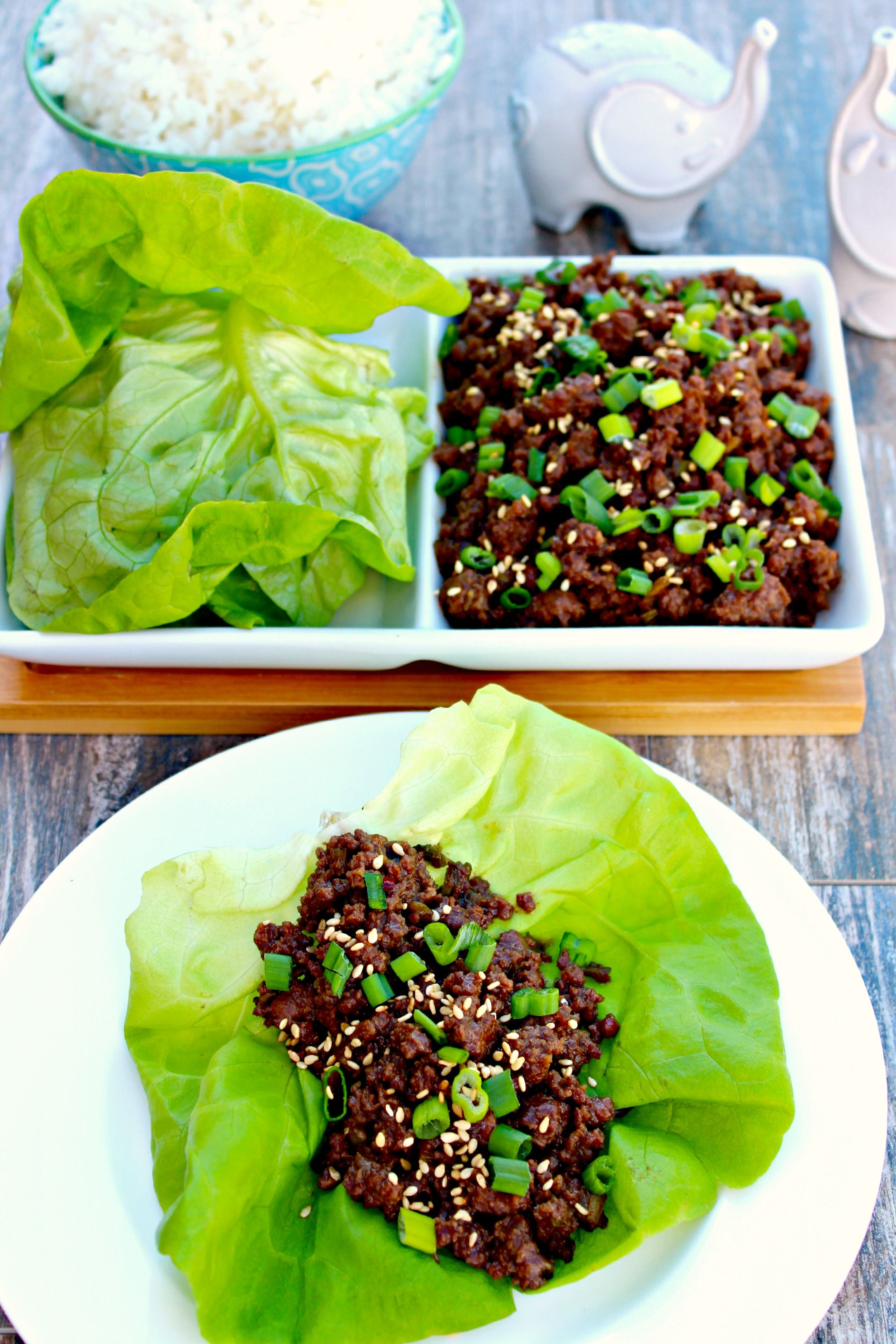 Korean Beef Lettuce Wraps The Complete Savorist Delacemi Beef