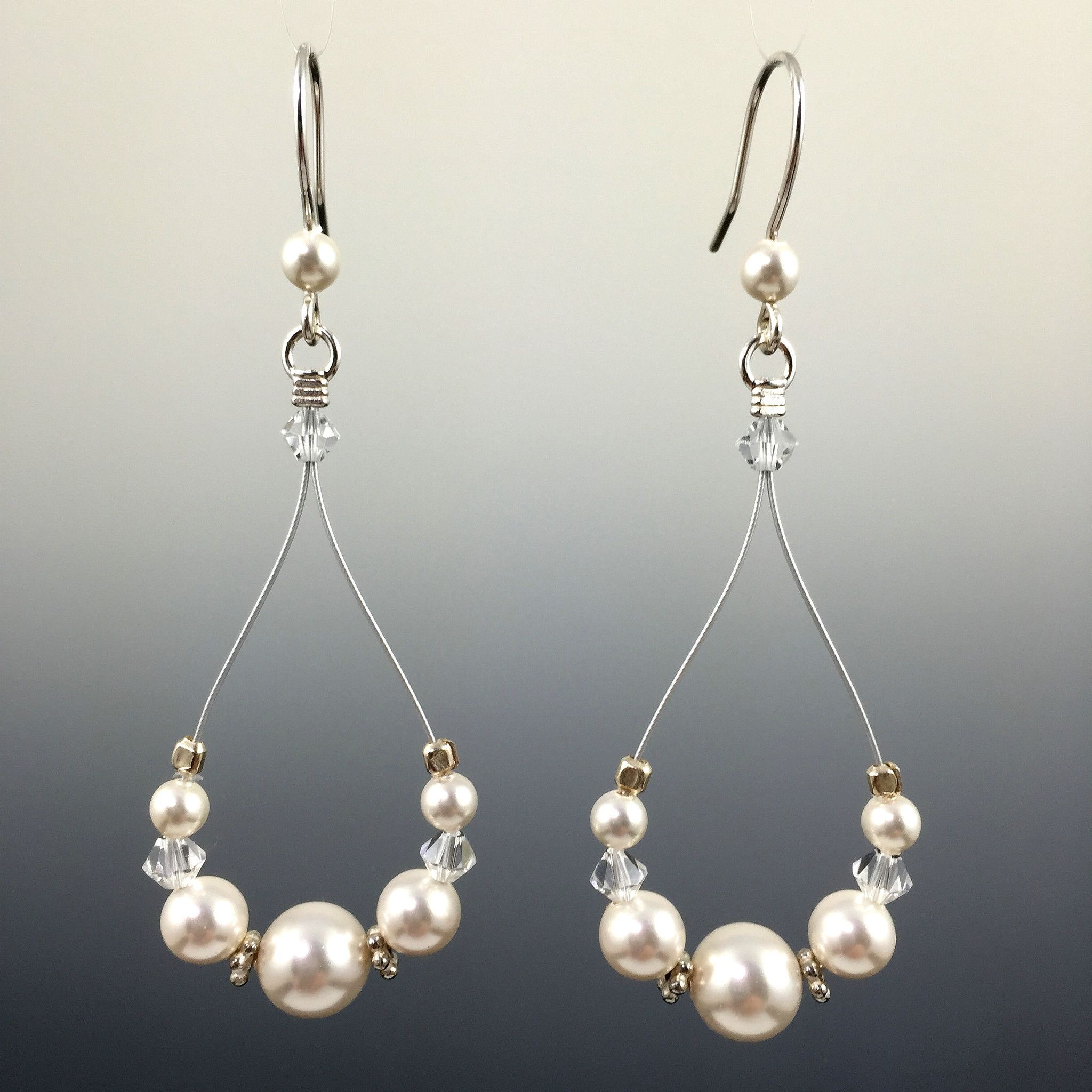 itm collection white rose mix with swarovski mixed crystal gold plated pearl pearls