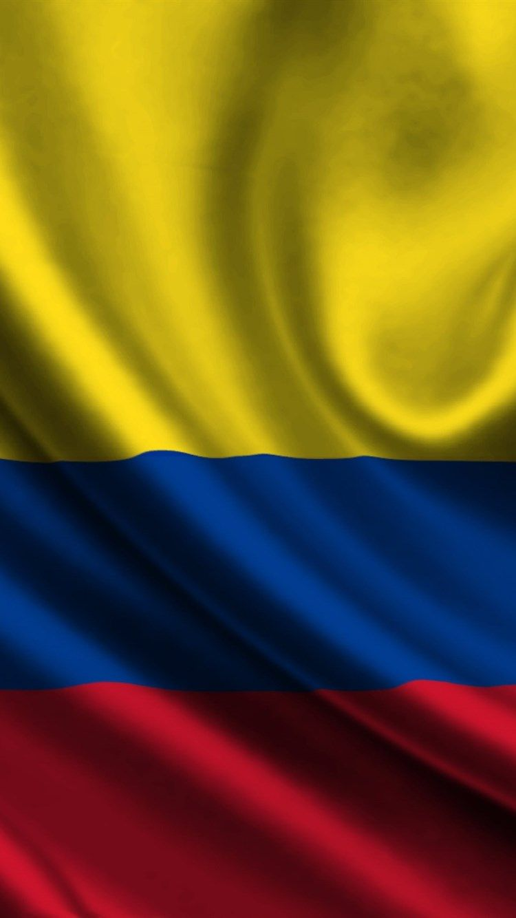 Download Wallpapers Colombian Flag 4k Silk Flag Of Columbia Satin Flags Columbia Flag Columbia Flag Colombian Flag Flag