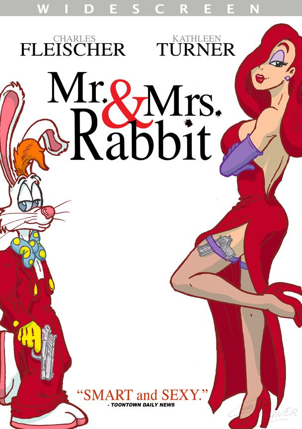 Roger and Jessica Rabbit as Mr. and Mrs. Smith by ~Christ-Oliver ...