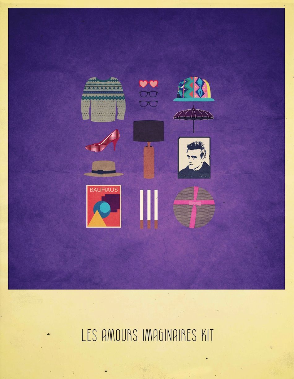 Every movie needs its kit - Les amours imaginaires