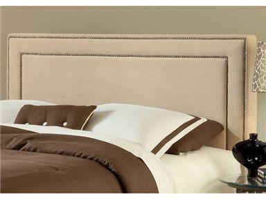 Hillsdale Furniture Bedroom Amber Fabric Headboard - Queen