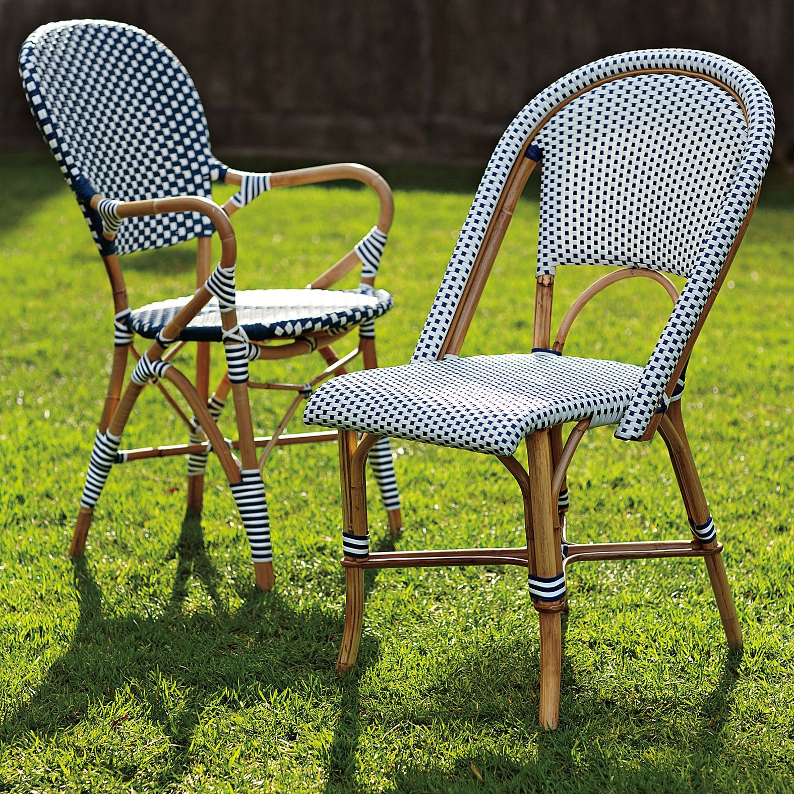 Riviera Side Chair Bistro chairs, Outdoor dining
