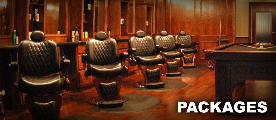 Packages The Boardroom Salon For Men Barbershop Design Barber