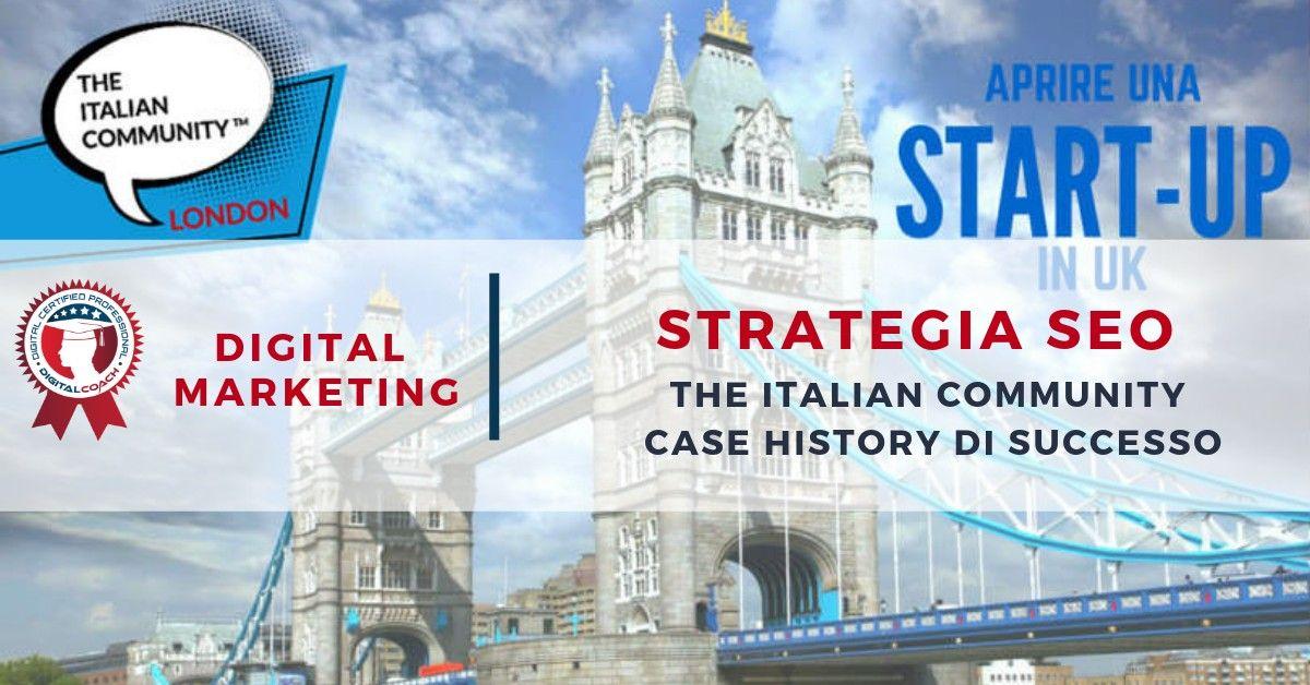 Seo Strategy Di Successo The Italian Community Marketing