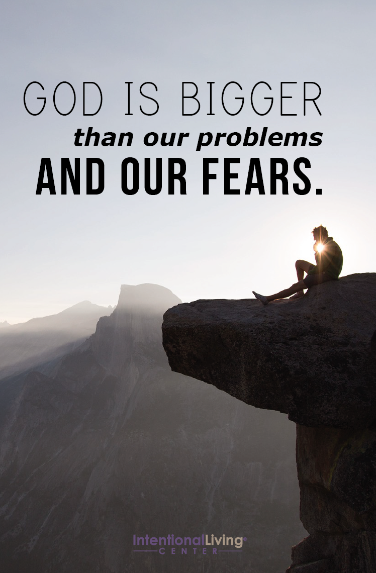 Amen! Our fears are nothing in comparison to God's amazing power.