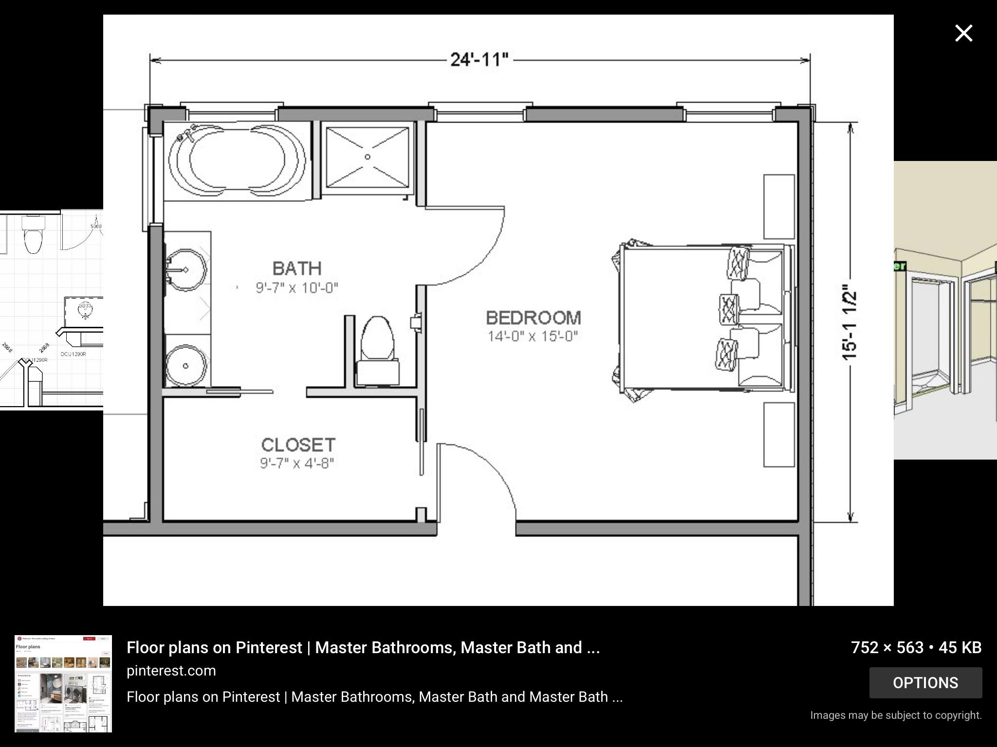 Pin By Carolina Tavares On House Flip Master Bedroom Plans Master Bedroom Layout Master Bathroom Layout