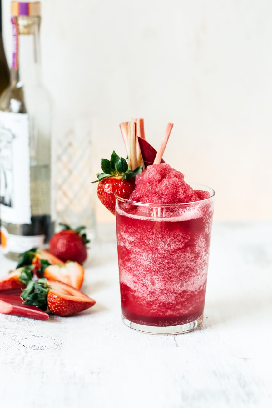 3 Refreshing Wine Slushies To Get Excited About This Summer Wine Slushie Slushies Rhubarb Wine