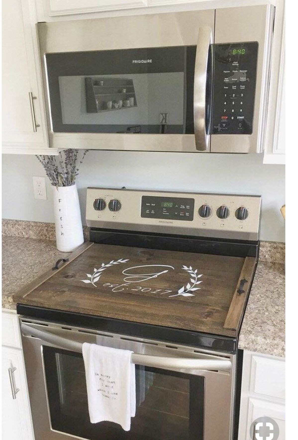 Stovetop Cover Diy Kitchen Kitchen Decor Home Diy