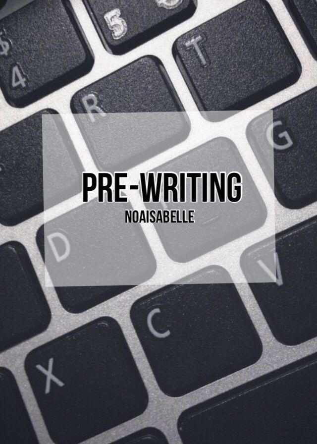 My pre-writing process | drunkbookaholic