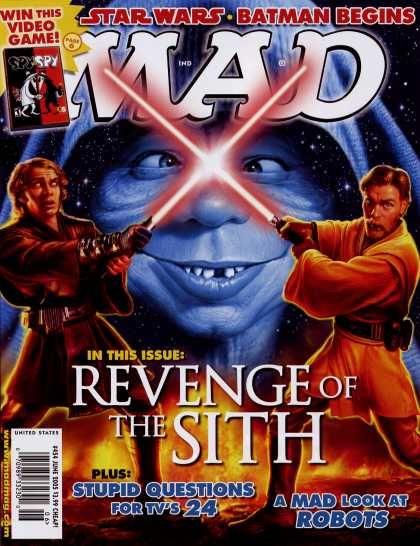 Mad Star Wars Covers Mad Star Wars Revenge Of The Sith Mad Magazine Mad Magazine