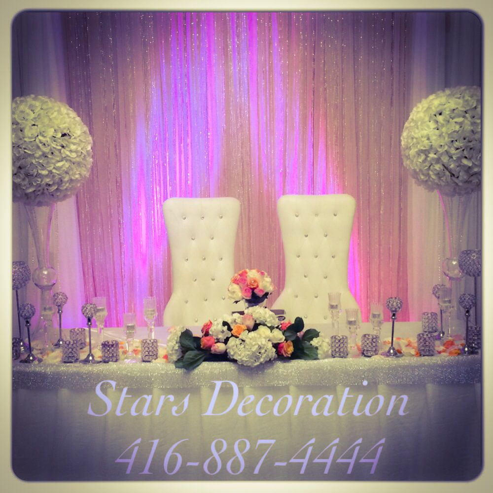 Wedding stage decoration with balloons  Simple and Elegant back drop by stars Decoration  Wedding Decor