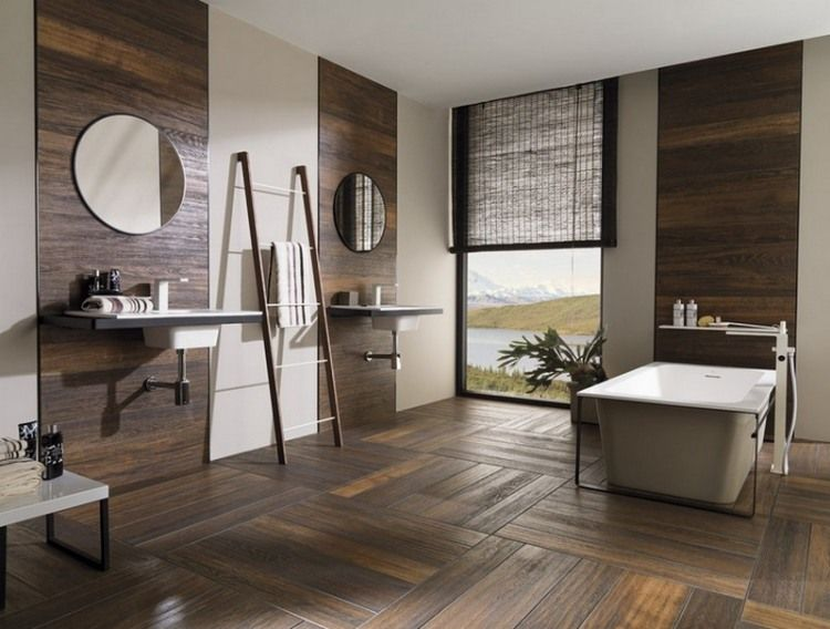 pinterest the worlds catalog of ideas - Carrelage Salle De Bain Imitation Bois