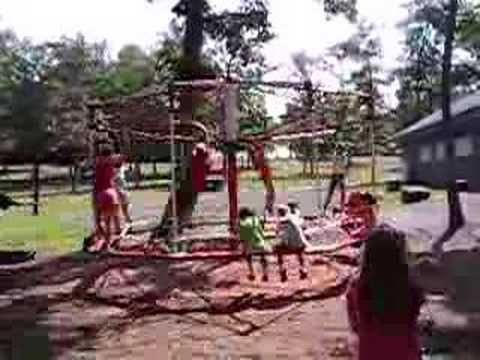 Old Playground Merry Go Round   We Had One Of These In Our Backyard