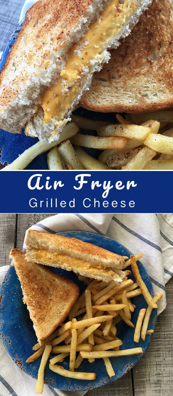 Air Fryer Grilled Cheese Recipe Diaries airfryer